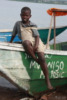 view--river boy Kisumu, East Africa, Kenya, Africa