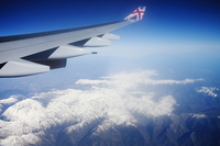 british airline wing over french alps Nairobi, London, Vancouver, East Africa, Kenya, England, Canada, Africa, Europe, America