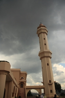 minaret of the mosque Kampala, East Africa, Uganda, Africa