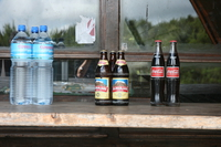 beer coke and water Moshi, kilimanjaro, East Africa, Tanzania, Africa