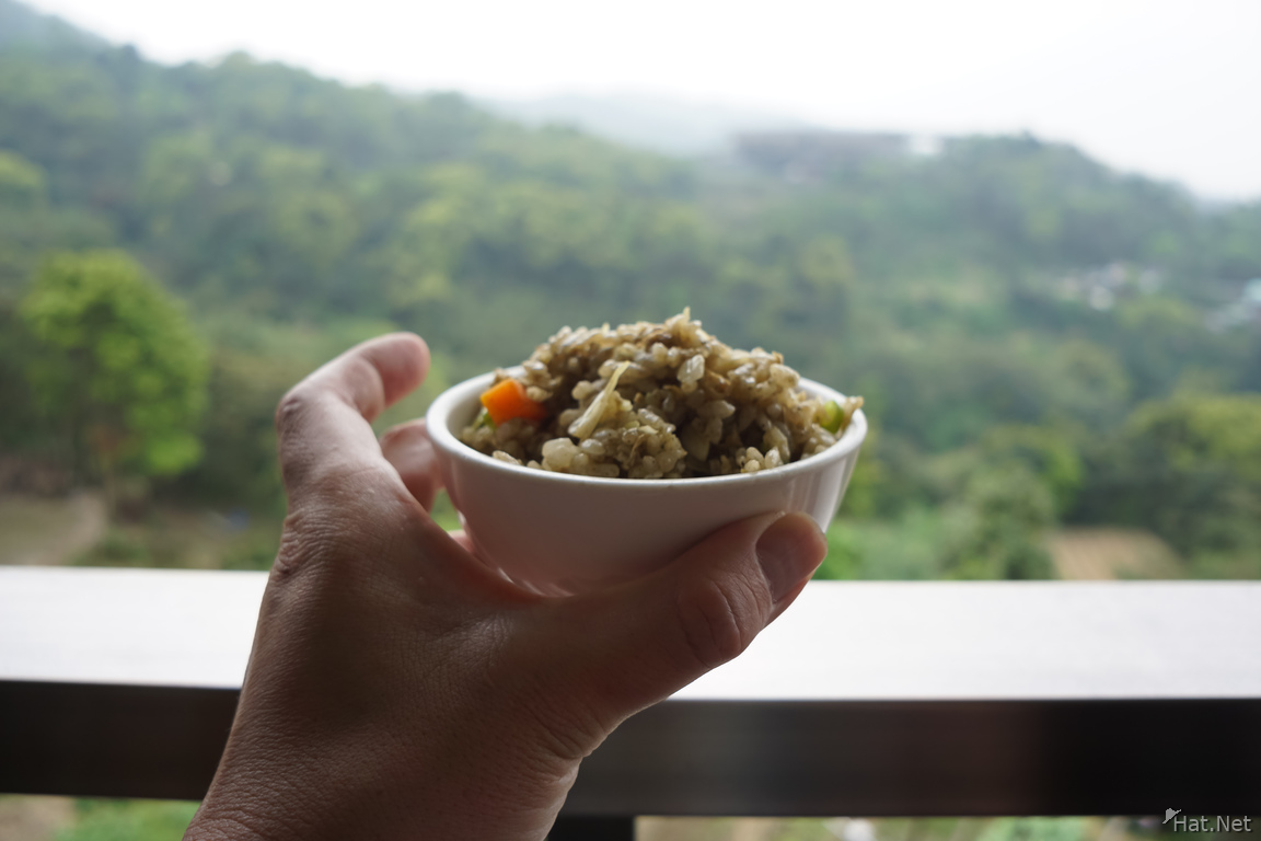 Fried rice in Maokong