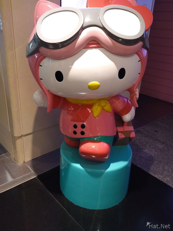 Hello Kitty in Taipei Airport