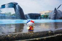 Hello Kitty and Whales Checheng Township,  Taiwan Province,  Taiwan, Asia