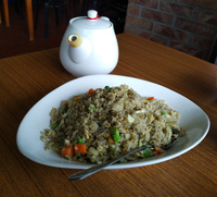 fried rice in Maokong Wenshan District,  Taipei City,  Taiwan, Asia