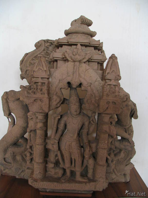 four handed shiva in a temple