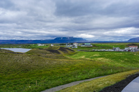 Myvatn Lake Crater aukery,  Northeast,  Iceland, Europe