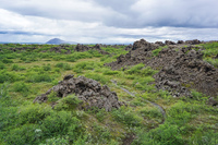 Dimmuborgir aukery,  Northeast,  Iceland, Europe