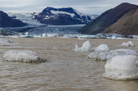 Hofn Offroad Glacier ice float Snafellsjokull,  East,  Iceland, Europe