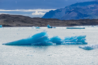 Jokulsarlon Glacier arrow ice Snafellsjokull,  East,  Iceland, Europe