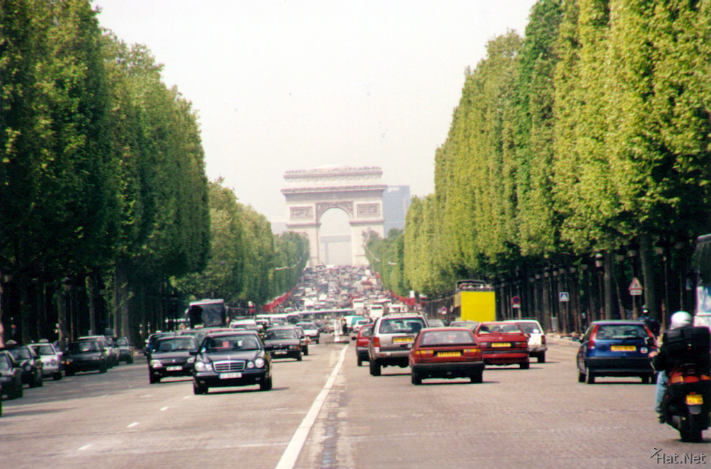 france champs elysees
