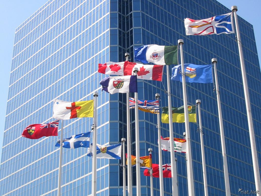 Flags Downtown 100 Thousand Photos
