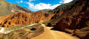 trail behind purmamarca Purmamarca, Northern Salta Provinces, Argentina, South America