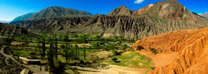 fairy land in purmamarca Purmamarca, Northern Salta Provinces, Argentina, South America