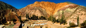 seven colored hill Purmamarca, Tilcara, Jujuy and Salta Provinces, Argentina, South America