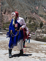 view--blue beard man with whip Tilcara, Iruya, Jujuy and Salta Provinces, Argentina, South America