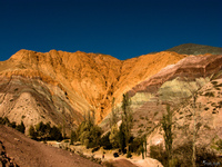 view--hill of seven colors Purmamarca, Tilcara, Jujuy and Salta Provinces, Argentina, South America