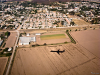 view--shadow of airplane near salta Puerto Igua�u, Salta, Misiones, Salta and Jujuy Province, Argentina, South America