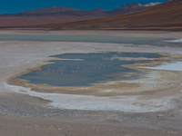 laguna verde San Antonio, Potosi Department, Bolivia, South America