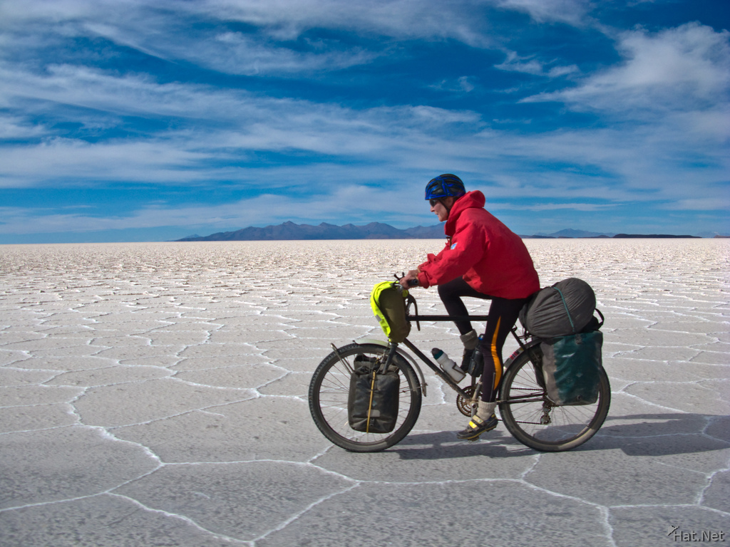 view--biking in salar de uyuni