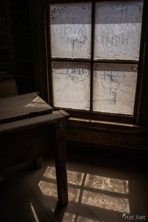 Humberstone creepy school desk