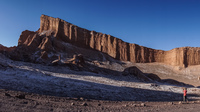 Great Wall of Valle of the Moon San Pedro de Atacama,  Región de Antofagasta,  Chile, South America